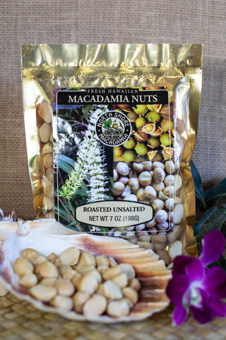 Hawaiian Macadamia Nuts Roasted & Unsalted