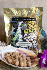 Caramel Roasted Macadamia Nuts