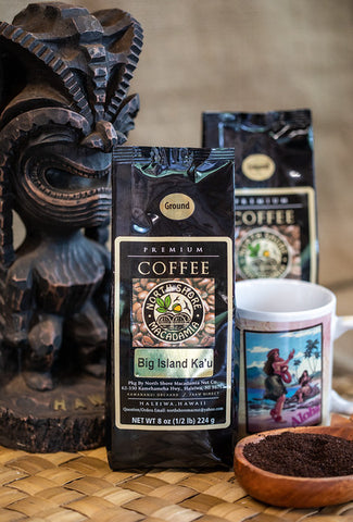 100% Big Island Ka'u Coffee 8 oz.