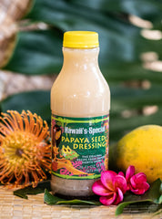 Hawaii's Special Papaya Seed Dressing