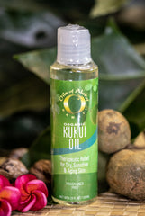 Organic Kukui Oil ~ Fragrance Free