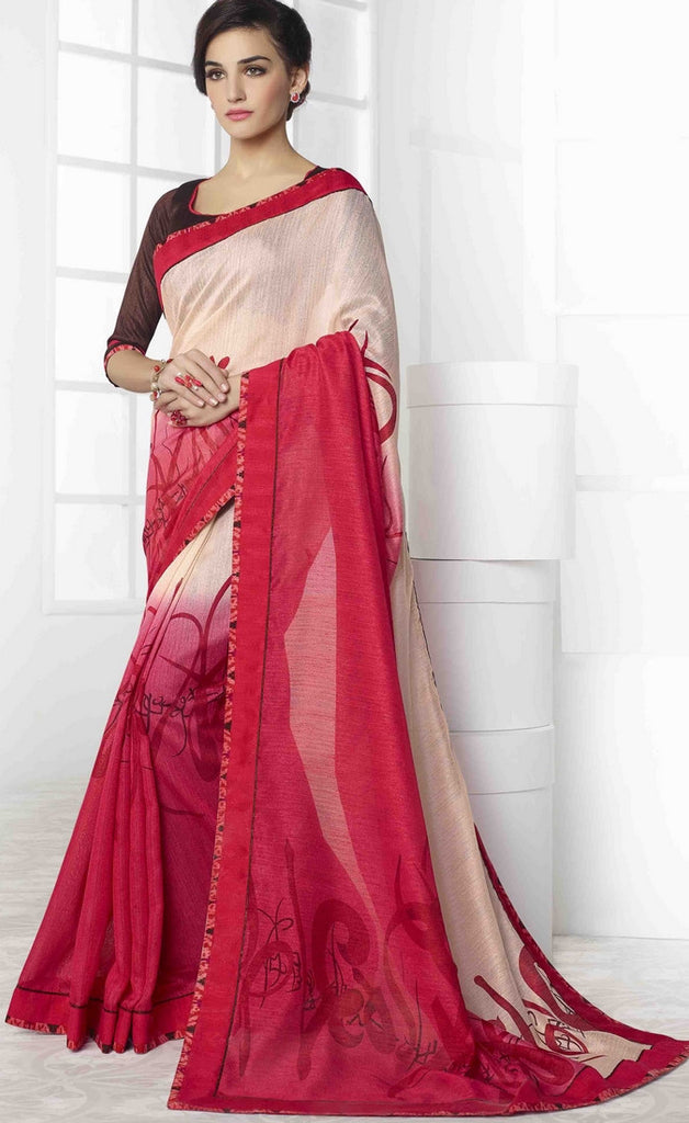 Pink Traditional Saree-IY1885