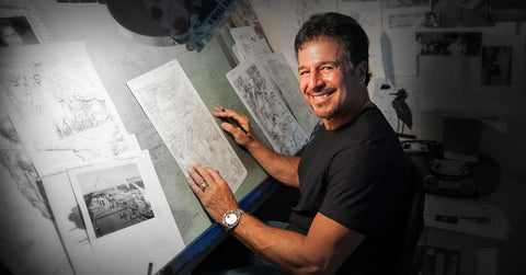 John Romita Jr. Artist Biography and Art Gallery Collection