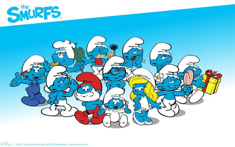 The Smurfs Biography and Art Gallery Collection