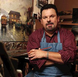 Thomas Kinkade (1958-2012) Artist Biography and Gallery Collection