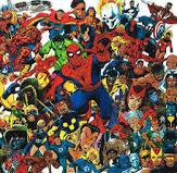 Marvel Comics Biography and Art Gallery Collection