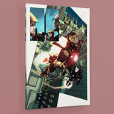 Iron Man 2 0 1 Marvel Comics Artist Barry Kitson Canvas Giclee Print Numbered