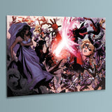 Avengers The Childrens Crusade 4 Marvel Comics Artist Jim Cheung Canvas Giclee Print Numbered