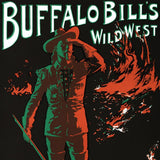 Buffalo Bills Wild West RE Society Hand Pulled Fine Art Lithograph Print Lithographer Hand Signed and Numbered