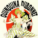 Quinquina Dubonnet RE Society Hand Pulled Lithograph Print Numbered and Signed