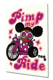Pimp My Ride Todd Goldman Acrylic Canvas Painting Artist Hand Signed