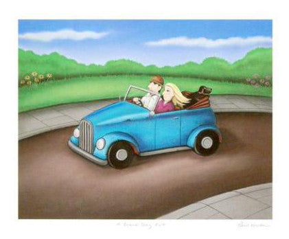 A Grand Day Out Paul Horton Giclee Print Artist Hand Signed and Numbered