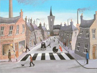 The Corner Shop John Wilson Giclee Print Artist Hand Signed and Numbered