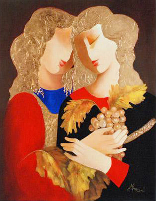 Be Fruitful Arbe Ara Berberyan Canvas Giclee Print Artist Hand Signed and Numbered