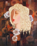 Secret Love Arbe Ara Berberyan Canvas Giclee Print Artist Hand Signed and Numbered