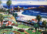 Alexander Chen Santa Monica Fine Art Offset Lithograph Print Artist Hand Signed and Numbered