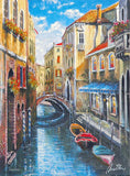 Venice Anatoly Metlan Artist Proof Lithograph Print Artist Hand Signed and AP Numbered