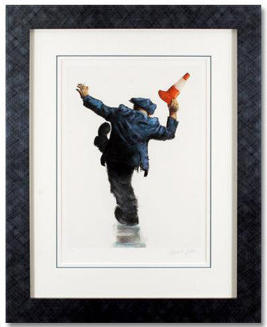 Alexander Millar Artist Signed Fine Art Giclee Print Lord of the Dance