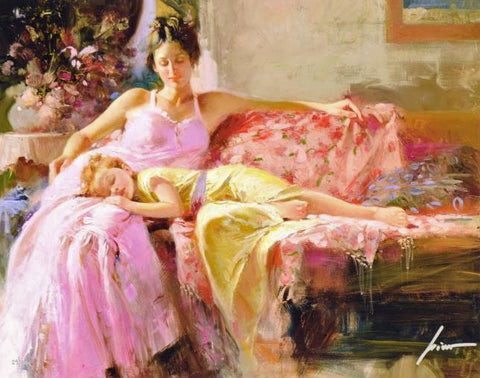 A Place In My Heart Pino Daeni Fine Art Giclee Print Artist Hand Signed and Numbered