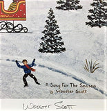 A Song for the Season Jane Wooster Scott Lithograph Print Artist Hand Signed and Numbered