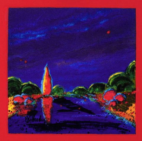 B H Brody My Colour Dream II Fine Art Serigraph on Board Print Artist Hand Signed and Numbered