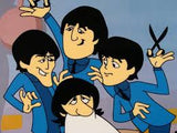 Barbershop Quartet Beatles Sericel Apple Corps Ltd Authorized and DenniLu Company Published with Full Color Background