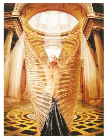 Chrysalis Chris Dellorco Fine Art Canvas Giclee Print Artist Hand Signed and Numbered