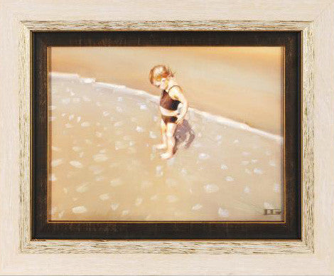New Things Carrie Graber Original Oil Painting on Canvas Board Artist Hand Signed and Framed