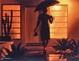 Warm Rain Carrie Graber Canvas Giclee Print Artist Hand Signed and Numbered