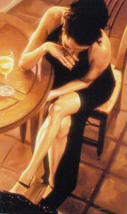 Sensual Arrangement Carrie Graber Canvas Giclee Print Artist Hand Signed and Numbered