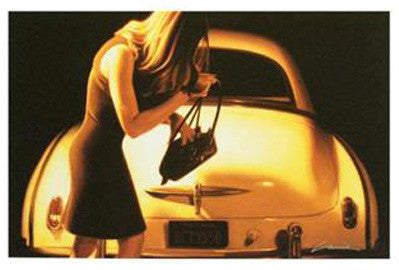 Bettys 50 Carrie Graber Canvas Giclee Print Artist Hand Signed and Numbered