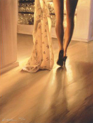 Summer Dress Variation Carrie Graber Fine Art Canvas Print Artist Hand Signed and Numbered