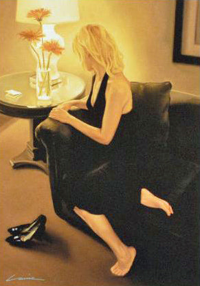 After Dancing Carrie Graber Canvas Giclee Print Artist Hand Signed and Numbered