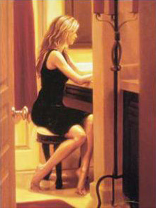 Intimate Moments Carrie Graber Canvas Giclee Print Artist Hand Signed and Numbered