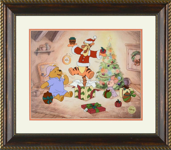 Gift of Friendship Disney Studios Sericel Serial Numbered with Official Disney Logo Framed
