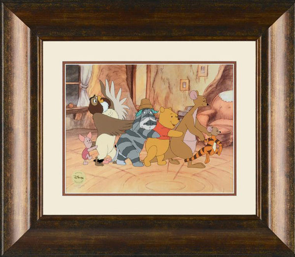Fun to Be Tigger Disney Studios Fine Art Sericel Serial Numbered and Framed