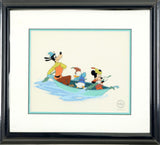 Mickey and the Beanstalk Disney Studios Classic Sericel with Background Framed