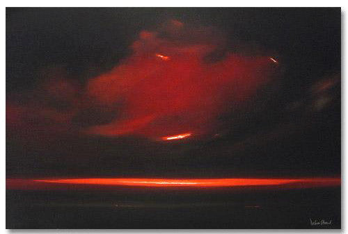 Horizon Debra Stroud Fine Art Serigraph Print Artist Hand Signed and Numbered