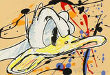 The Duck Has Pluck David Willardson Fine Art Serigraph Print Artist Hand Signed and Numbered
