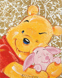 Very Important Piglet David Willardson Fine Art Serigraph Print Artist Hand Signed and Numbered