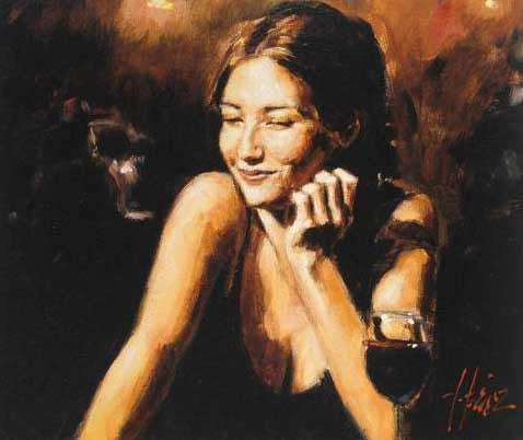 Selling Pleasure II Fabian Perez Fine Art Giclee Print on Board Artist Hand Signed and Numbered