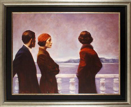 Silence at Dawn Hamish Blakely Canvas on Board Giclee Print Artist Hand Signed Numbered and Framed