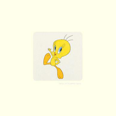 Warner Bros Tweety Bird Hand Tinted Color Etching Numbered