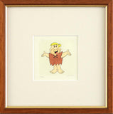 Barney Rubble Hanna Barbera Hand Tinted Color Etching Numbered Licensed by Universal Studios Framed