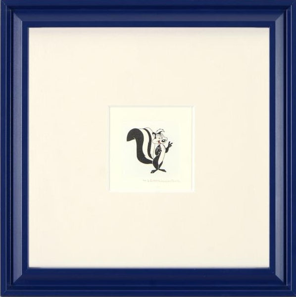 Pepe Le Pew - Limited Edition Etching on Paper with Hand Tinted Coloring by Warner Bros.