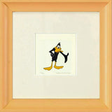 Daffy Duck Warner Bros Hand Tinted Color Etching Numbered and Numbered