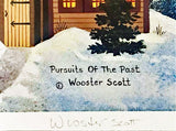 Pursuits of the Past Jane Wooster Scott Lithograph Print Artist Hand Signed and Numbered