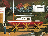 Lure of the Sea Jane Wooster Scott Lithograph Print Artist Hand Signed and Numbered