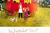 Springtime Cheer Lithograph Print Artist Jane Wooster Scott Hand Signed and Numbered