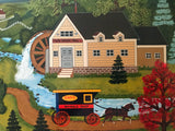 Good Neighbor Jane Wooster Scott Serigraph Print Artist Hand Signed and Numbered
